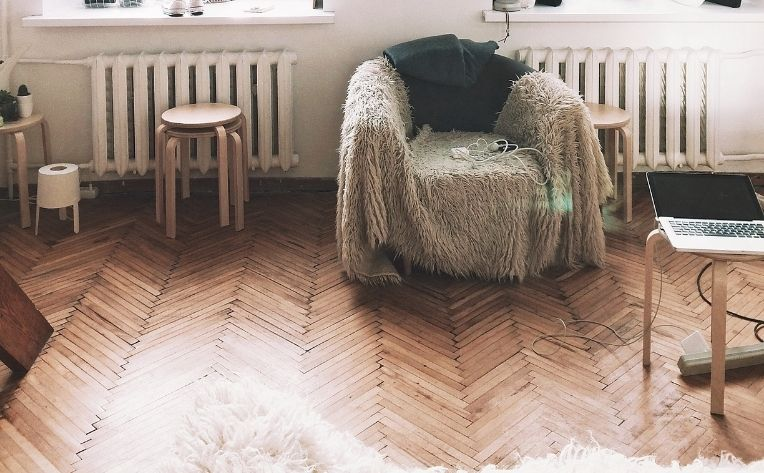 Bamboo Flooring Room Example